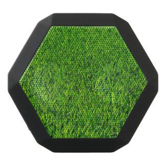 Green Summer Grass Texture Black Bluetooth Speaker