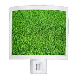 Green Summer Grass Texture Night Lite