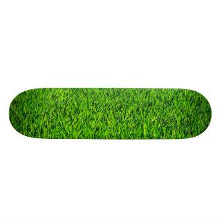 Green Summer Grass Texture Skate Board