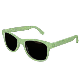 Green Summer Grass Texture Sunglasses