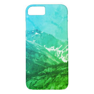 Green Summer Mountains Phone Case