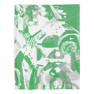 Green summer on duvet cover