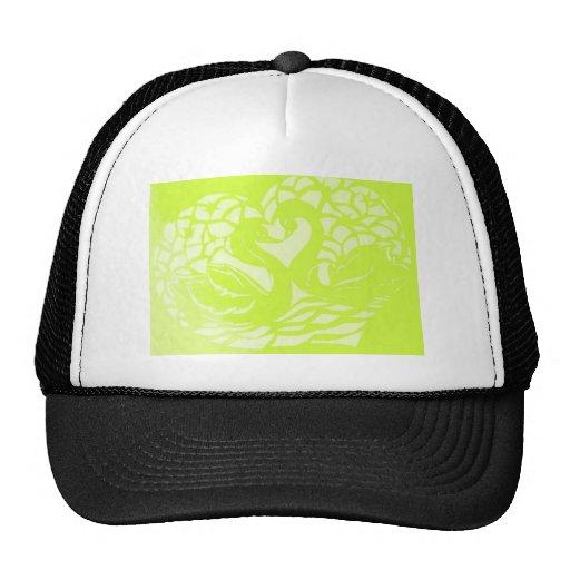 green swans.jpg mesh hat