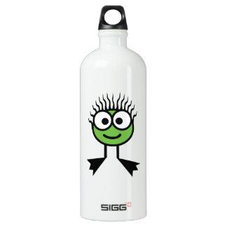 Green Swim Character Drink Bottle