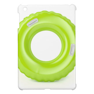 Green swim ring cover for the iPad mini