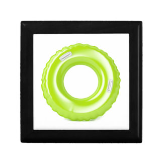 Green swim ring gift box