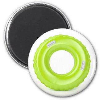 Green swim ring magnet
