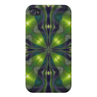 Green Synergy Fractal iPhone 4 Case