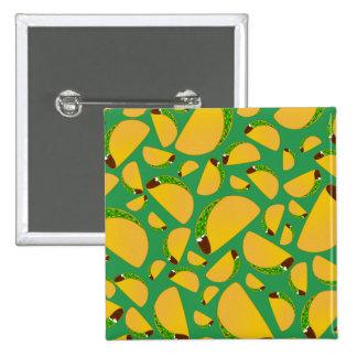 Green tacos pin