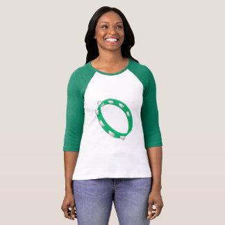 Green Tambourine Women's Raglan T-Shirt