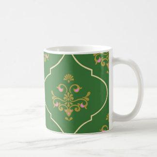 Green Tapestry Coffee Mug