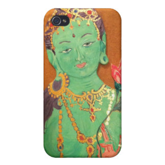 Green Tara iPhone 4 Cases