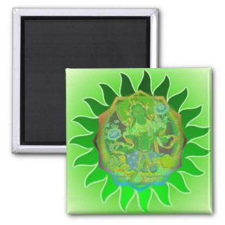 Green Tara Magnet