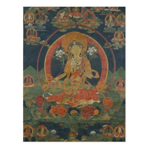 Green Tara Post Card