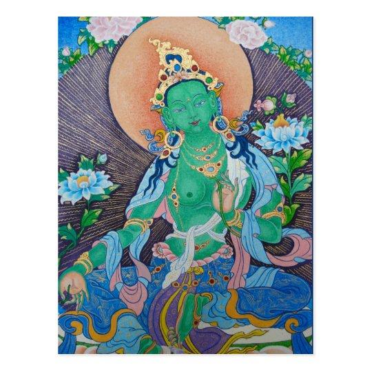 Green Tara Postcard