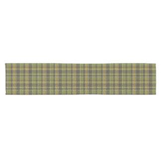 """Green Tartan Plaid 14"""" X 72"""" Table Runner"""