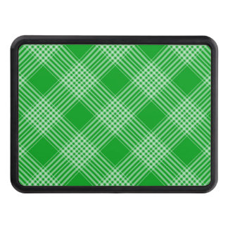 Green Tartan Plaid Tow Hitch Covers