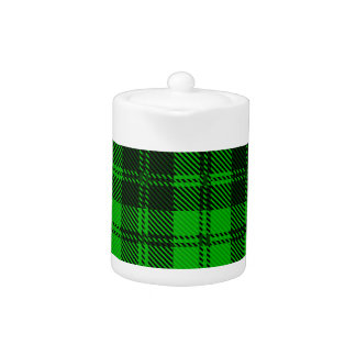 Green Tartan Wool Material