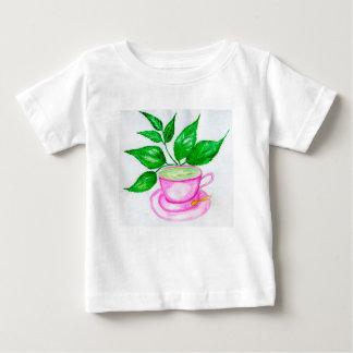 Green Tea Art2 Baby T-Shirt