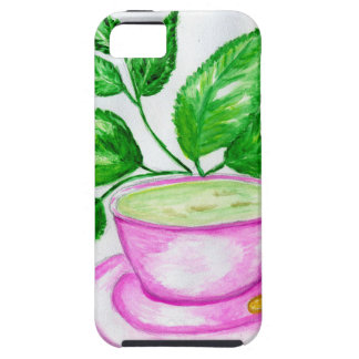 Green Tea Art2 iPhone 5 Case