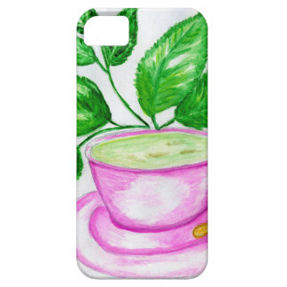 Green Tea Art2 iPhone 5 Cover