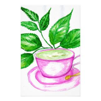 Green Tea Art2 Stationery