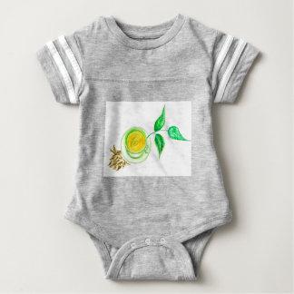 Green Tea Art Baby Bodysuit