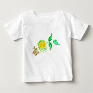 Green Tea Art Baby T-Shirt