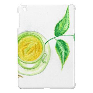 Green Tea Art iPad Mini Cases