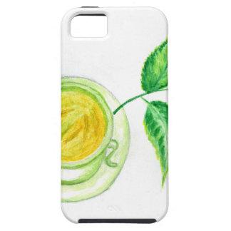 Green Tea Art iPhone 5 Cover