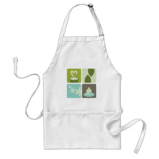 GREEN TEA NATURAL LEAVES LUXURY ART EDITION STANDARD APRON