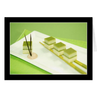 Green Tea Tofu Card