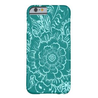 Green Teal Mandala Henna Style Phone Case
