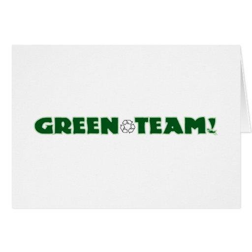 Green Team Cards