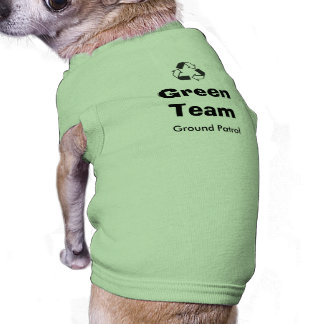 Green Team Doggy Shirt