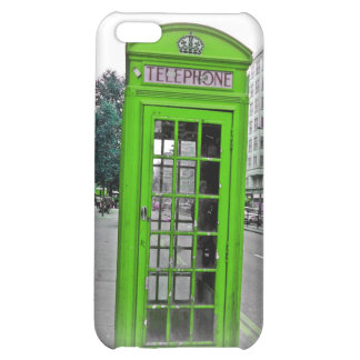 Green Telephone booth iPhone 5C Case