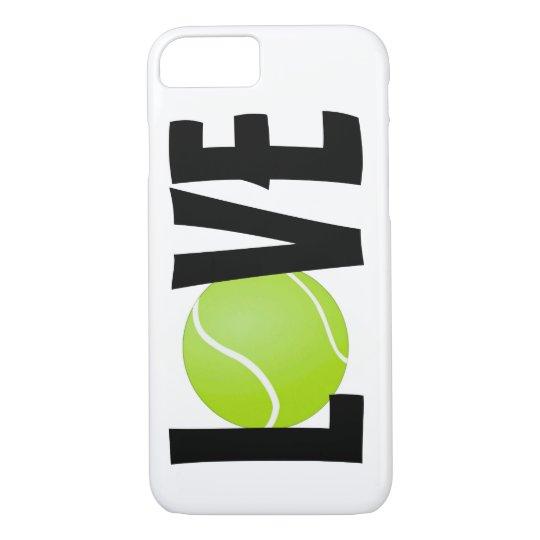 Green Tennis Ball LOVE iPhone 7 Case