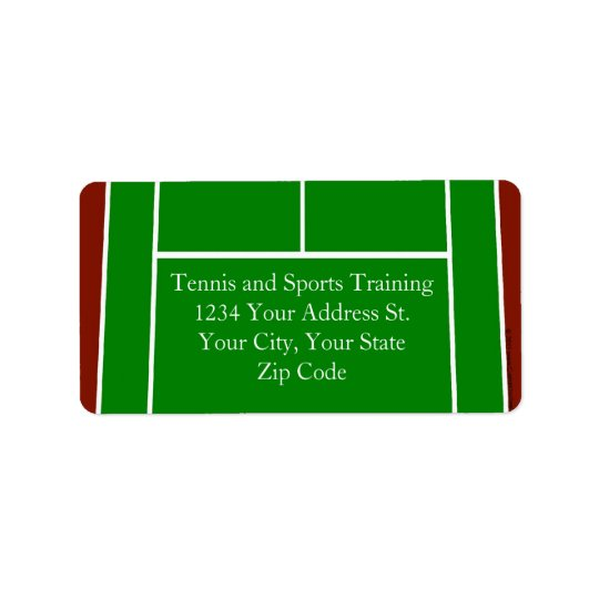 Green Tennis Court Design
