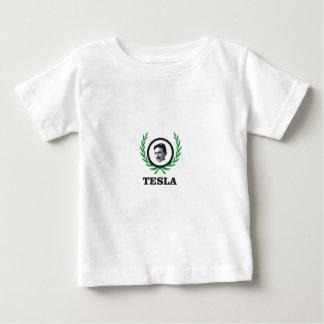 green Tesla circle Baby T-Shirt