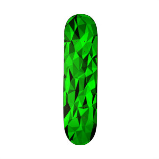 Green texture pattern skate boards