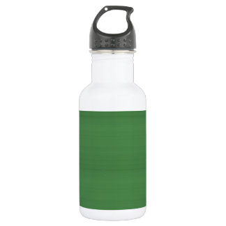 GREEN Texture Template DIY easy add TEXT PHOTO jpg 532 Ml Water Bottle