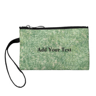 Green Textured Background by Shirley Taylor Coin Purse