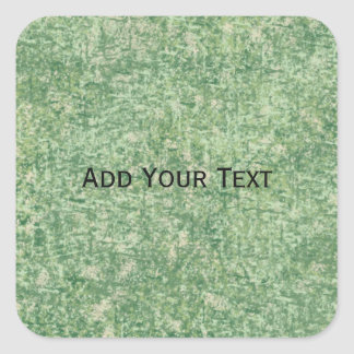 Green Textured Background by Shirley Taylor Square Sticker