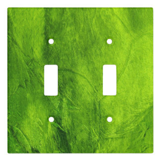Green Textured Light Switch Cover