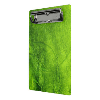 Green Textured Mini Clipboard