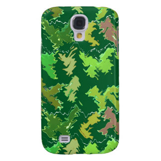 Green Theme : Military Camouflage Wave Pattern