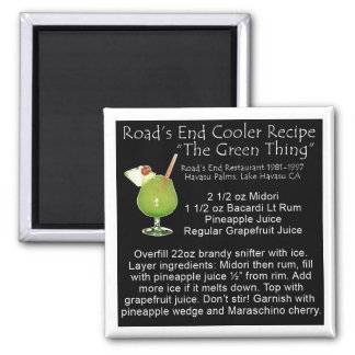 Green Thing Recipe Magnet
