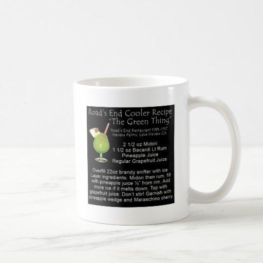 Green Thing Recipe Coffee Mug