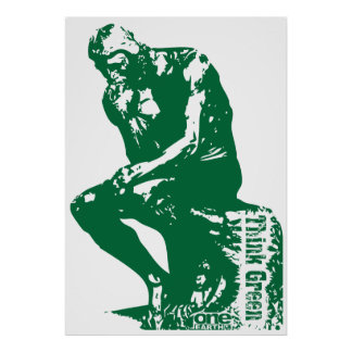 Green Thinker Poster