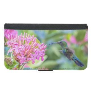 Green Throated Carib Hummingbird Wallet Phone Case